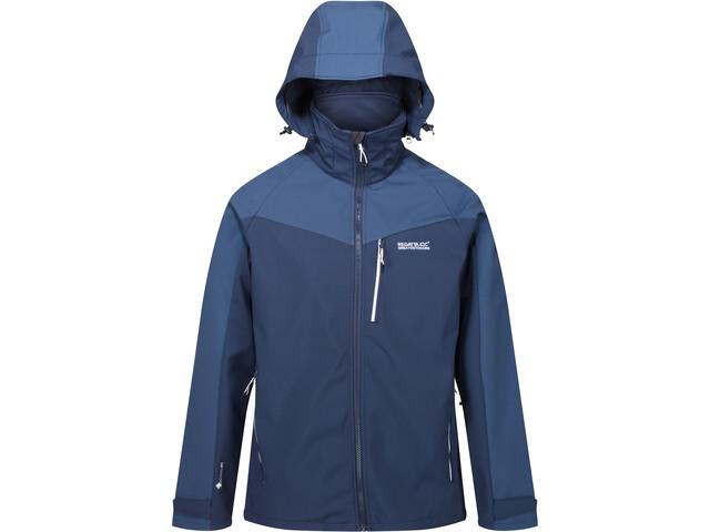 Regatta Hewitts VI Softshell Jacket Men, nightfall navy/brunswick blue